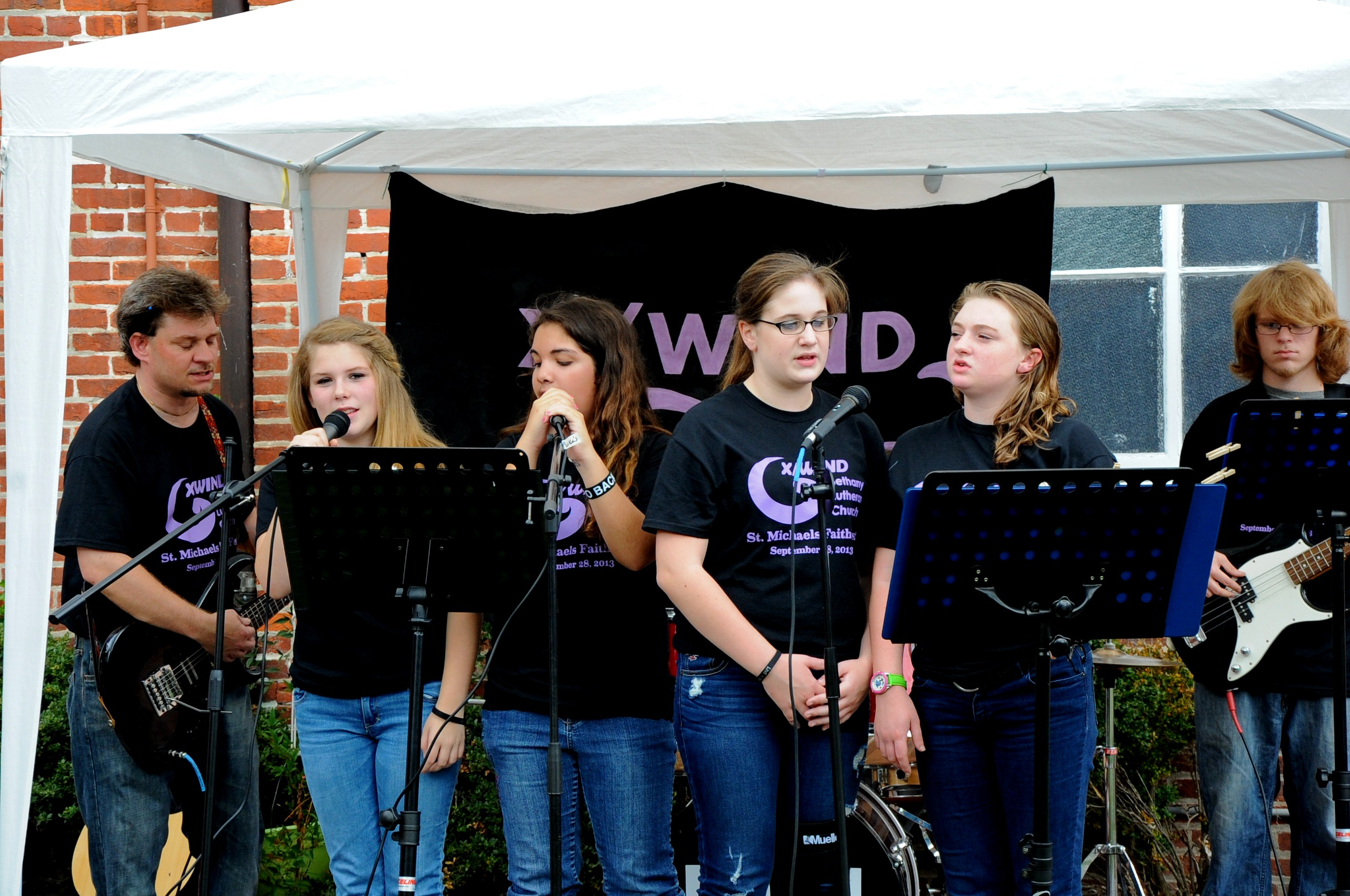 X/WIND Performs at Faith Fest in St. Michaels September 28, 2013